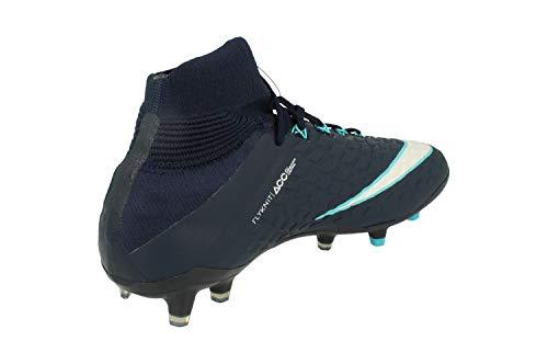 White Scarpe Phantom Blue Df 414 – Fg Unisex Gamma Bambini Obsidian Hypervenom Calcio Iii Da Nike A7Fqw