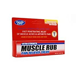 Family Care Ultra Strength Pain Relieving Muscle Rub (Pack of 2)