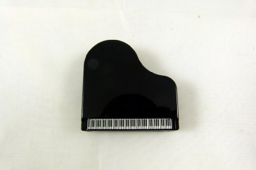 Music Themed Piano Shape Memo Clip with Pen Holder and Magnet - (Shape Magnetic Memo Holder)