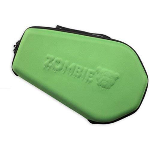 Bulldog Cases Moulded Nylon Coffin Shaped Pistol Case, Green, 14 x 9-Inch