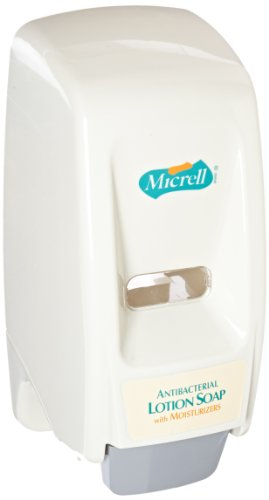 Gray Lotion (Micrell 9721-12 Bag-in-Box Antibacterial Lotion Soap Dispenser, Dove Gray)