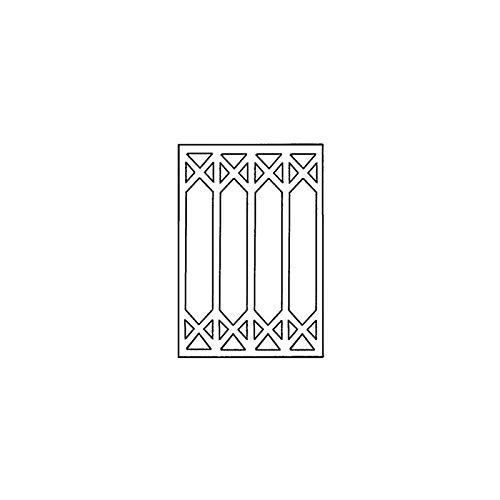 Dollhouse Miniature Window Mullions For Hw5051