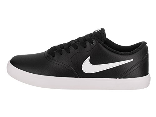 Scarpe Basse Ginnastica Check Uomo black white 006 Solar Da Sb Nike Nero qtfaS