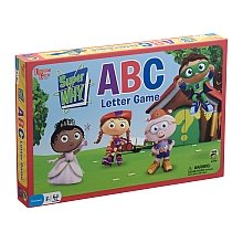 University Games Super Why Abc Letter Preschool Game from University Games