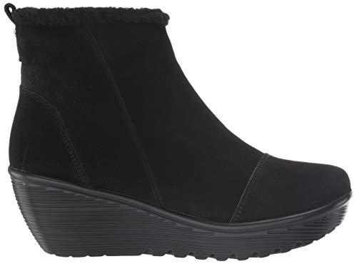 Skechers Women's Parallel-Zip Up Wedge Casual Comfort Ankle Boot Fashion