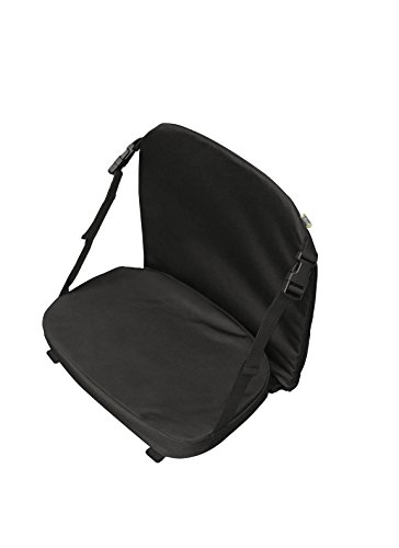 Pelican Boats - Premium Padded Canoe Seat - Universal Fit - PS0476-2 - Comfortable Seating with Back Support, Black