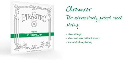 Pirastro 319220 Chromcor Steel Core Violin A String Mittel Envelope 4//4 Size