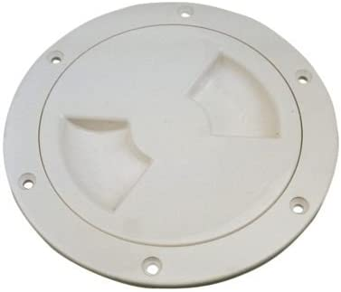 deck plate white standard 4in each Sea-Dog Line Screw Out Deck Plates