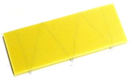 National Beehive Wired Shallow Super Wax Foundation Sheets (10) Simon The Beekeeper
