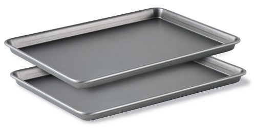 Calphalon (BW2018P) Classic Bakeware Special Value 12-by-17-Inch Rectangular Nonstick Jelly Roll Pans, Set of 2 by Calphalon