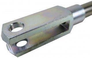 Gasfeder 614mm 1250N Gasdruckd/ämpfer Hebehilfe f/ür Pferdeanh/änger Heckklappe
