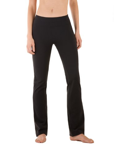 5106-CC-X-29 Body-skimming, straight-leg yoga pant (Lycra Straight Leg Pants)