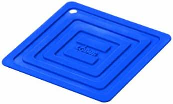 Lodge AS6S31 Silicone Square Pot Holder, Blue