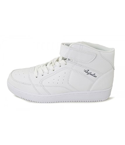 AUSTRALIAN Men's Trainers White discount lowest price rIbUBGK