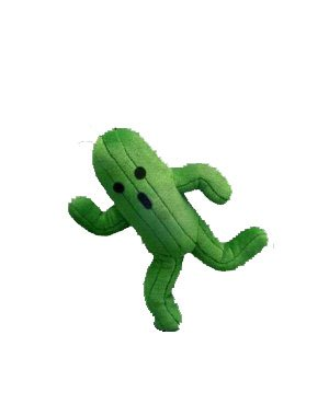 Square Enix Final Fantasy Cactaurcactus Plush Figure Stuffed Animal by Japan VideoGames