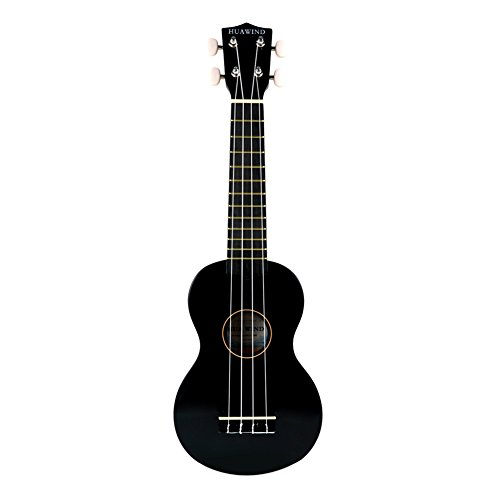 Huawind Soprano Ukulele For Beginners Four String Guitar