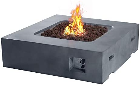 Amazon Com Cloud Mountain Fire Tables Fire Pit 41 9 Outdoor