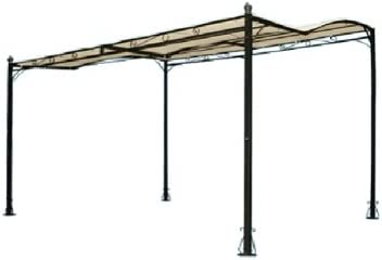 Gazebo de acero 300 x 350 patio verande para balcones y: Amazon.es ...