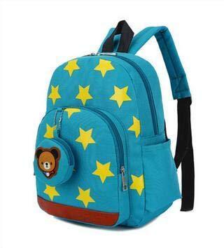 Fashion Kids Bags Nylon Children Backpacks for Kindergarten A1