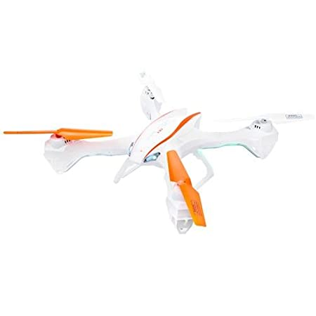 UDI RC U842 FALCON Ready-to-Fly Quadcopter with HD Camera, Radio Controller Included, White