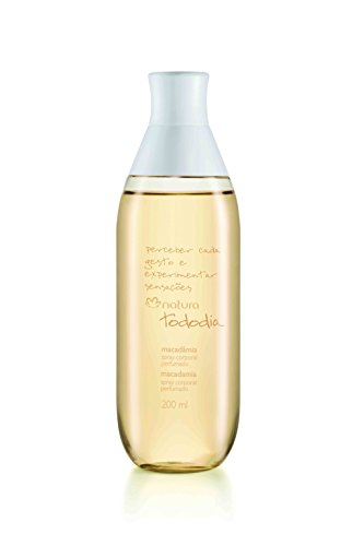 Linha Todo Dia Macadamia Natura – Colonia Spray Corporal 200 Ml – Natura Every Day Macadamia Nut Collection – Body Spray Cologne 6.76 Fl Oz