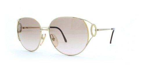Christian Dior 2788 44 Gold Authentic Women Vintage - Vintage Dior Sunglasses Christian