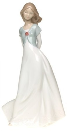 Love Porcelain Figurine - Nao by Lladro Collectible Porcelain Figurine: TRULY IN LOVE - 10