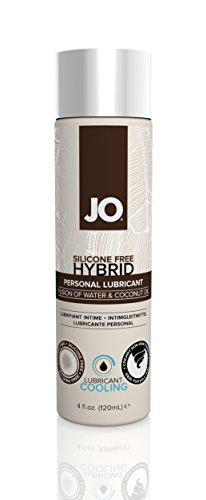 System JO Silicone Free Hybrid Cooling Lubricant with Coconut, 4 Fluid Ounce