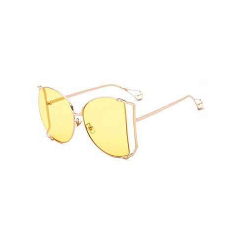 de de la Libre Grande Perla Manera La de Señora 9 la de Gafas al Ruikey Sol Marco Sol Gafas de Sol del Gafas Aire de 6FBv1nCx