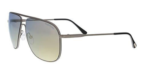 Tom Ford Sunglasses TF 451 Dominic 09C Silver - Dominic Tom