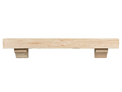 72 inch fireplace mantel shelf - 3