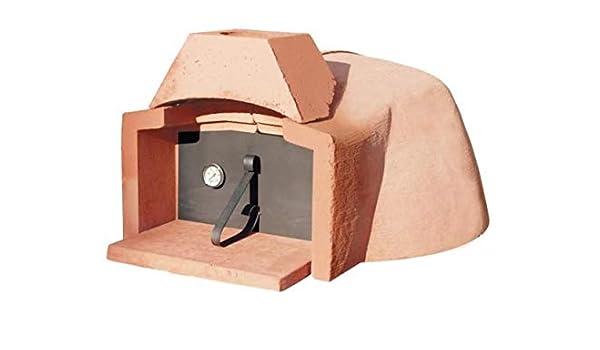 Horno de leña refractario Mini Interior de 85 cm (3/4 Pizzas ...