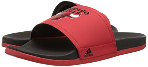 1f0d622b68c3 adidas Performance Men s Adilette Chicago Bulls Sandals