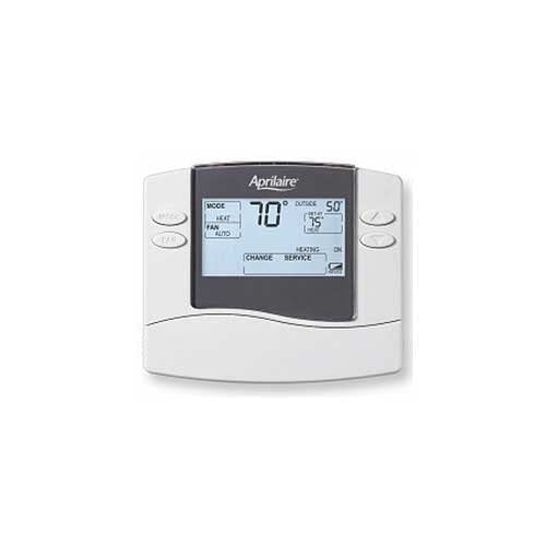 Aprilaire 8448 Thermostat, Digital Heat/Cool or Heat Pump Multi-Stage Non-