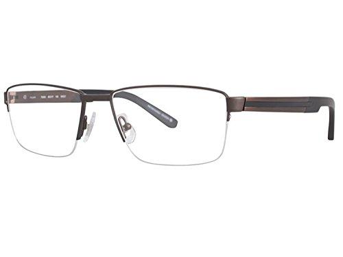 OGA MOREL Eyeglasses Made in France TANGER 7954 7954O (matte brown black, one color)
