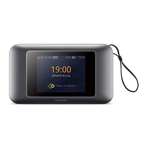 Huawei E5787s-33a 300 Mbps 4G LTE & 43.2 Mpbs 3G Mobile WiFi (4G LTE in Europe, Asia, Middle East, Africa & 3G Globally) (Black)