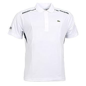 f97fada4 Lacoste Sport - Polo Shirt DH2313, Blanc/Marine, 6/XL: Amazon.co.uk:  Clothing