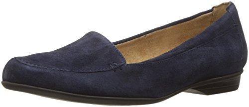 Naturalizer Women's Saban Slip-On Loafer, Navy