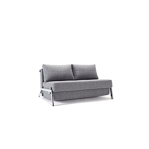 Innovation Schlafsofa Cubed Deluxe, Funktionssofa grau