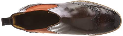 5 Rook OF Orange Damen Ela Braun Boots MADE amp; MELVIN Crust MH HAND Chelsea D Orange CLASS Amelie SHOES HAMILTON Mogano xwvYUF