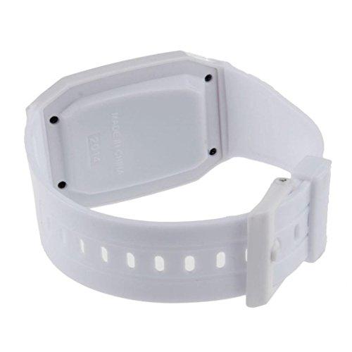 SMTSMT Children's Multi-Purpose Time Wrist Calculator Watch- White by SMTSMT (Image #2)