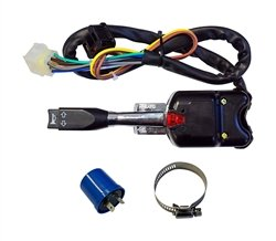 (Golf Cart Turn Signal Switch with Horn Button)