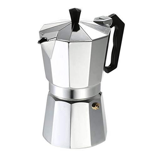Zinniaya Cafetera de aluminio 3Cup / 6Cup / 9Cup / 12Cup Cafetera ...