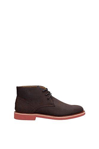 Scuro Boot Ralph Lauren Shoe Marrone Polacchino Torrington Uomo Polo B9280 Man