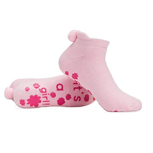 Labor and Delivery Non Skid Socks By Baby Be Mine Maternity Pregnancy (6-10, It's a girl!) -