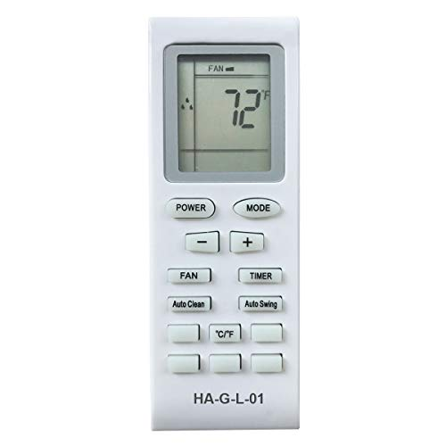 HA-G-L-01 Replacement for LG Portable Air Conditioner Remote Control for Model LP1415GXR LP2525GXR LP1111WXR LP1111WXRY1 LP1210BXR LP1311BXR LP1411SHR LP1413SHR LP1414SHR LP1415SHR LP1415WXRSM by YING RAY (Image #3)