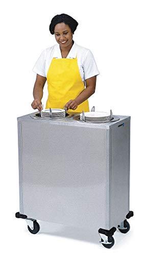 Plate Dispenser Cart, Adj, Heated, ()
