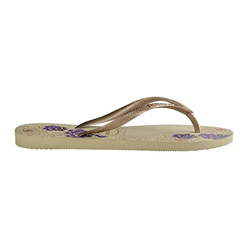 0154 Femme Organic Grey sand Slim Tongs Havaianas Multicolore Wq8xt0wqT
