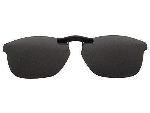 30de573ae4 Custom Fit Polarized CLIP-ON Sunglasses For Oakley Taunt (52) OX1091 52X16  Black