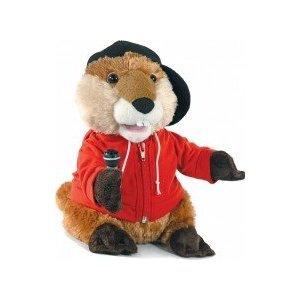 Cuddle Barn Animated Beaver Plush Sings